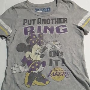 Vintage 02 Lakers / Disney play off T-Shirt